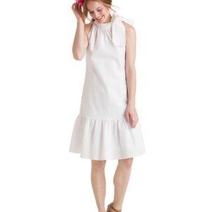 Vineyard Vines Seersucker Tie Neck Dress Size XS